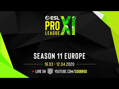 🔴LIVE: ESL Pro League Season 11: Europe -  Day 2