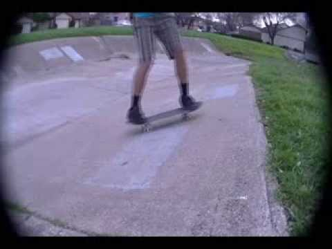 Skating in Wooldridge Elementary School's Drainage Ditch