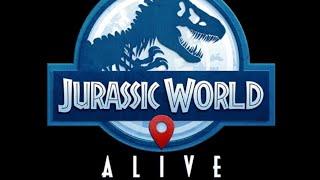 Girls chased by T Rex...Jurrasic World Alive AR