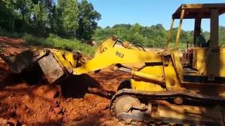 8 Year Old Operating Cat 953 Track Loader