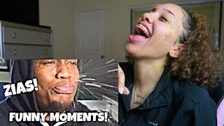 ZIAS FUNNY/BEST MOMENTS! REACTION