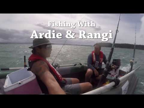 Kingfishing with Rangi & Ardie