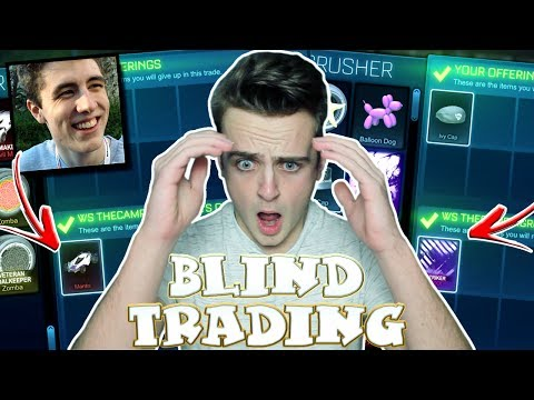 "*OMG* INSANE BLIND TRADING vs THECAMPINGRUSHER - SO MUCH ON THE LINE! | Rocket League ""Battleships"""