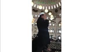 Ali Tel Cuma Namazı Muhteşem İç Ezan