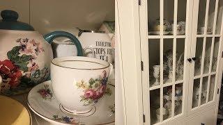 MY TEA CUP + TEA POT COLLECTION | VINTAGE TEA CUPS, GLASSES, & MORE!