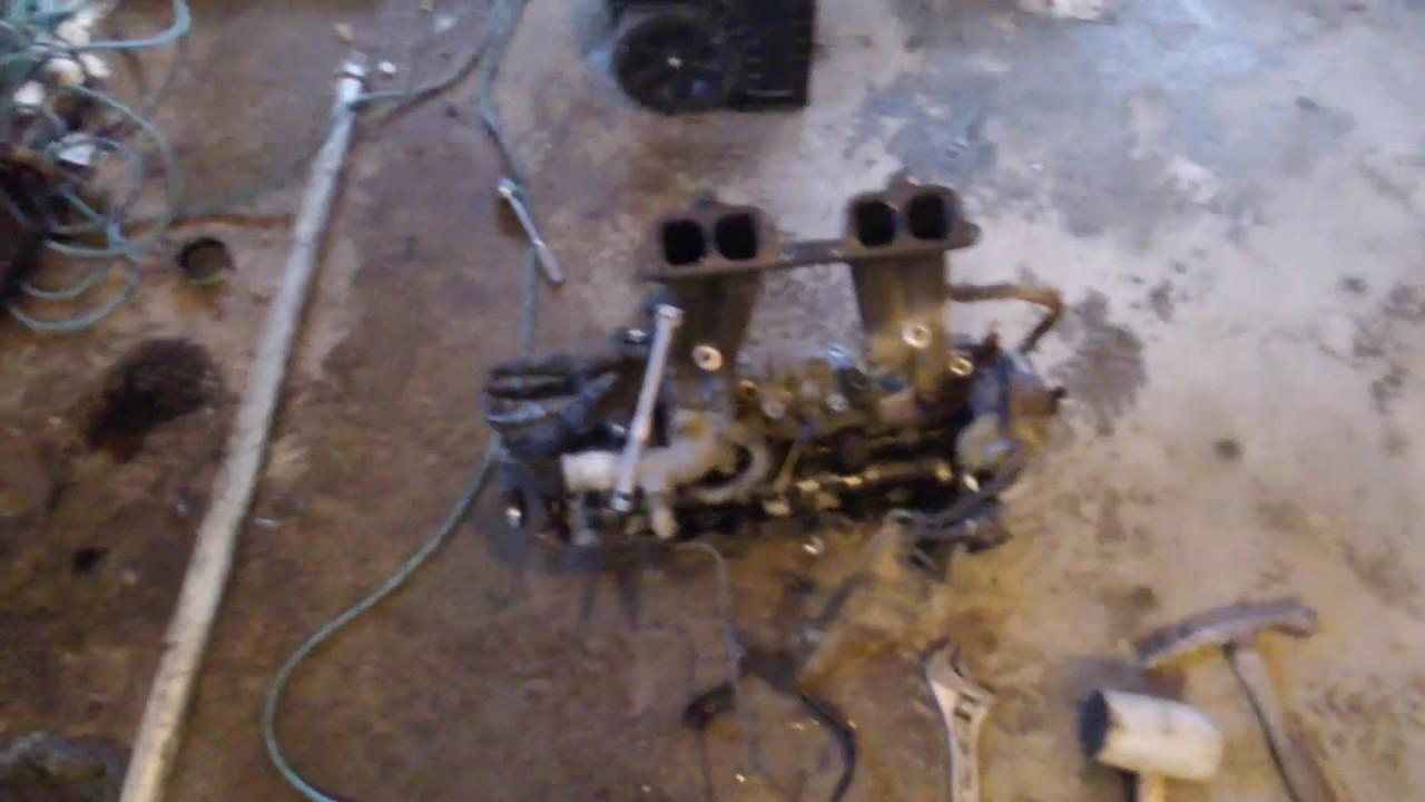 Toyota 22re intake manifold stubborn Allen bolt tip