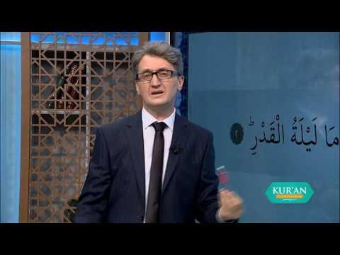 Kur'an Öğreniyorum 55.Bölüm - Kadir Suresi