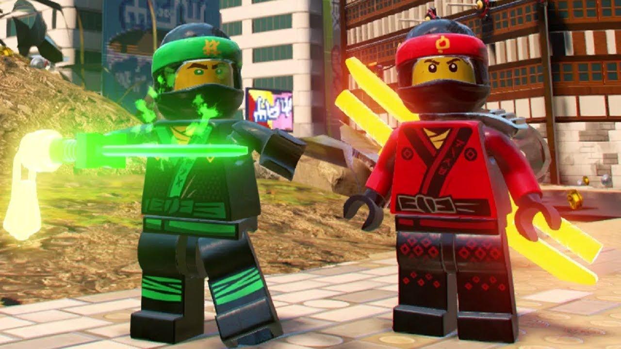 The lego ninjago movie video game ninjago city free roam kai cole jay lloyd zane nya - Ninjago lloyd and kai ...