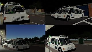 (ORION II) TTA 1990s ORION II BUS on route 14 Central to Central Ave (ROBLOX)