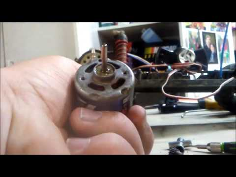 How To Clean Your Brushed Electric Motor