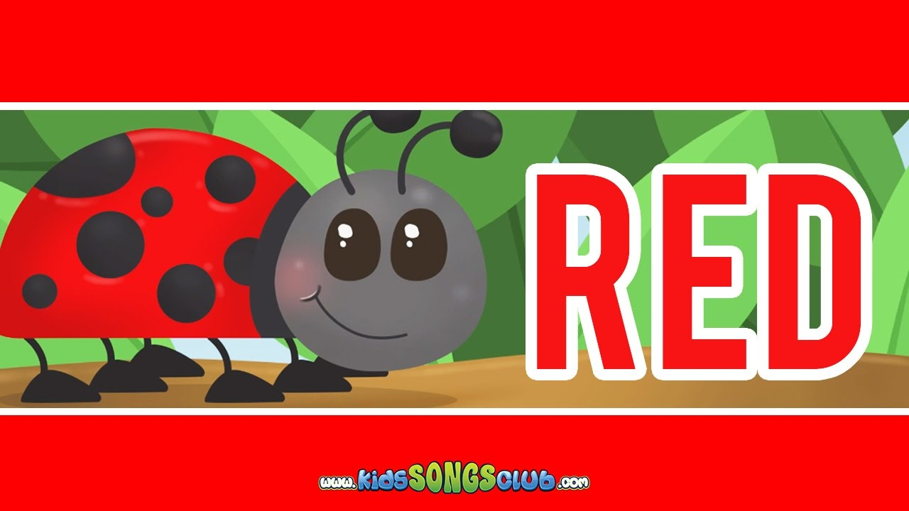 The Color Red Song | Kids Songs with Action And Lyrics ...
