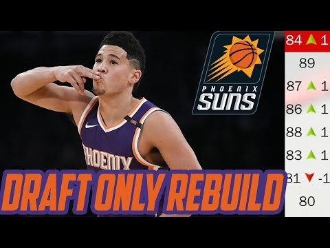 REBUILDING THROUGH THE DRAFT! Phoenix Suns! NBA 2K18