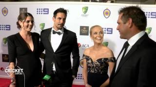 Red Carpet glitz and glamour at the AB Medal