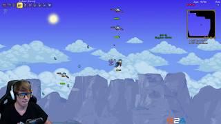 MIASTO W NIEBIE - #6 Terraria Multiplayer
