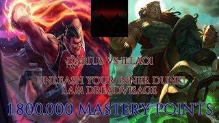 Darius vs Illaoi [7.24][RANKED] -- HEΝTAI ANYONE??? -- 1,800,000 MASTERY POINTS --