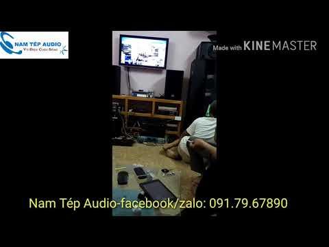 Video test hát karaoke loa R210+ Đẩy B3+ vang số 3G audio