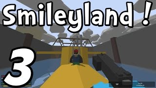 "Unturned 3.0 - Father & Son In Smileyland! - Episode 3 - ""naval Base!"""