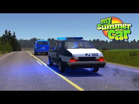 My Summer Car #50 | Policías Agresivos en persecución vs La Van y Camión