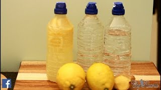 How To Lemon & Ginger Water For Perfect Weight Loss In This Summer | Recipes By Chef Ricardo