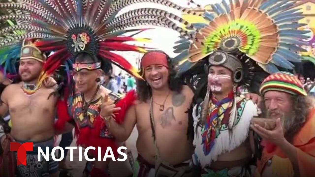 Así conservan en México la Danza de los Concheros | Noticias Telemundo