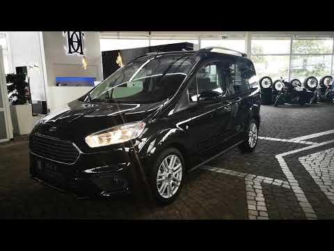 Ford Tourneo Courier 1 0 Eb Titanium Kamera Navi Youtube