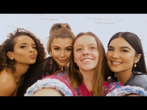 SEPHORA COLLECTION MEET-UP VLOG :) // I MET OLIVIA JADE, SAYRIA JADE, AND FAYE CLAIRE :) thumbnail