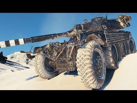 EBR 105 - FUN ON THE WHEELS - World of Tanks Gameplay