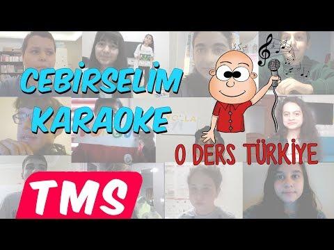 Cebirselim Karaoke Klip | O Ders Türkiye