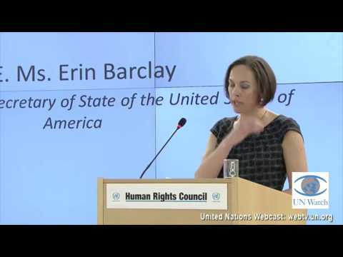 U.S. slams anti-Israel bias of U.N. Human Rights Council, demands reform
