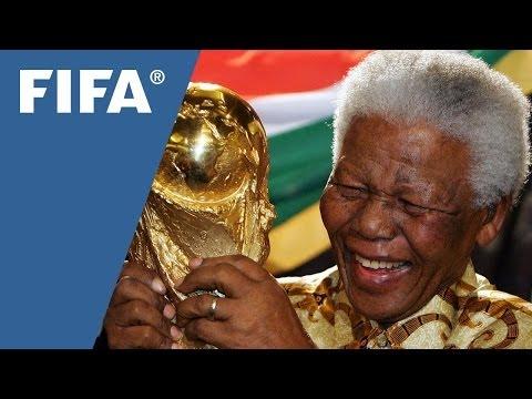 Mandela, the beloved figure who loved football