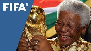 Mandela, the beloved figure who loved football