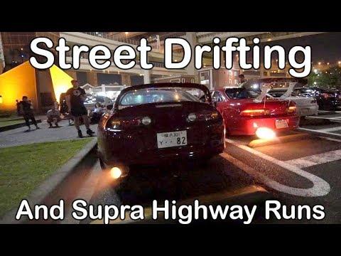 REAL Tokyo Street Scene - Drifting, Highway Runs, Cops. - Vlog 69