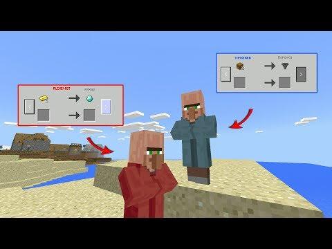 ДВА СКРЫТЫХ ЖИТЕЛЯ в Minecraft PE 1.2