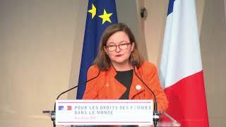 Discours de la Ministre Nathalie Loiseau. Pour les droits des femmes dans le monde- 8 mars 2018