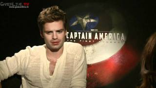 Captain America The First Avenger Exclusive Interview with Sebastian Stan