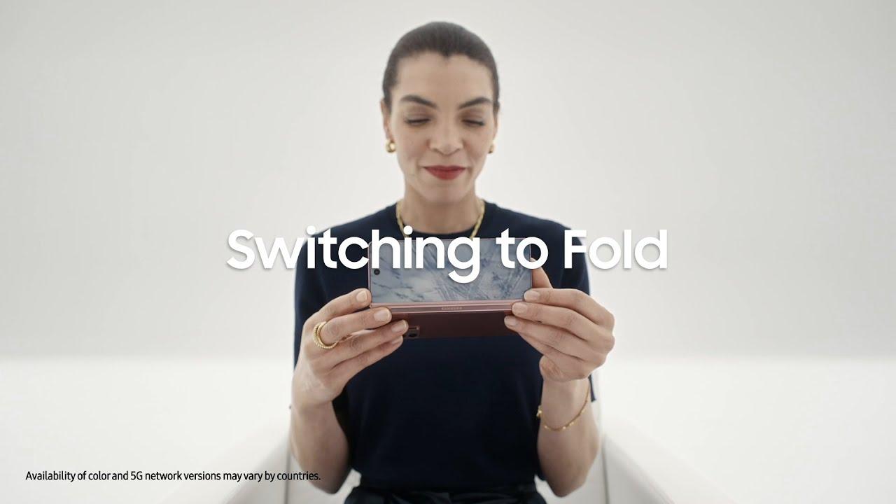#GalaxyZFold2 5G: Smart Switch