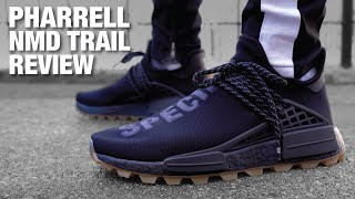Adidas PHARRELL Hu NMD Black Gum REVIEW