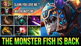 WHEN THIS FISH GETS FAT YOU CAN'T DEFEAT HIM [Slark] Real Monster Power 27Kills By Faith   DotA 2