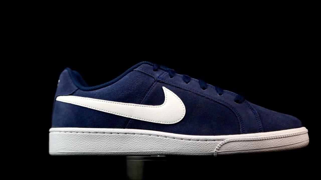 despeje mejor selección de la venta de zapatos Nike SB Court Royale Suede azul marino. - YouTube
