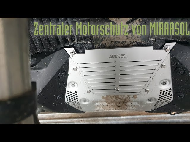 KTM 790 Adventure zentraler Motorschutz von MIRAASOL-moto