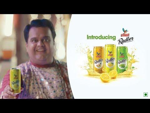 Introducing Kingfisher Radler! Refreshing, Non Alcoholic Drink! #KFinGujarat