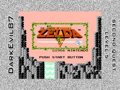 The Legend of Zelda - DarkEvil87's Longplays - Level-5 [Second Quest] (NES)