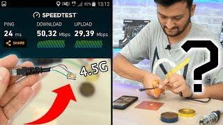 #TrendBusters 1 - 4.5G SIM Karta İNTERNET Kablosunu Lehimleyip Yüksek HIZDA İnternet ALMAK??