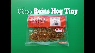 Видеообзор силиконовой приманки Reins Hog Tiny по заказу Fmagazin