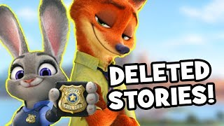 Zootopia DELETED STORIES Fans Never Got To See!