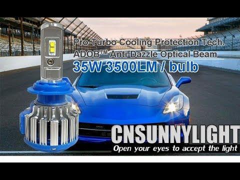 Автомобильные лампы LED Headlight H7 H4 LED H1 H3 HB4 9005 9006 .