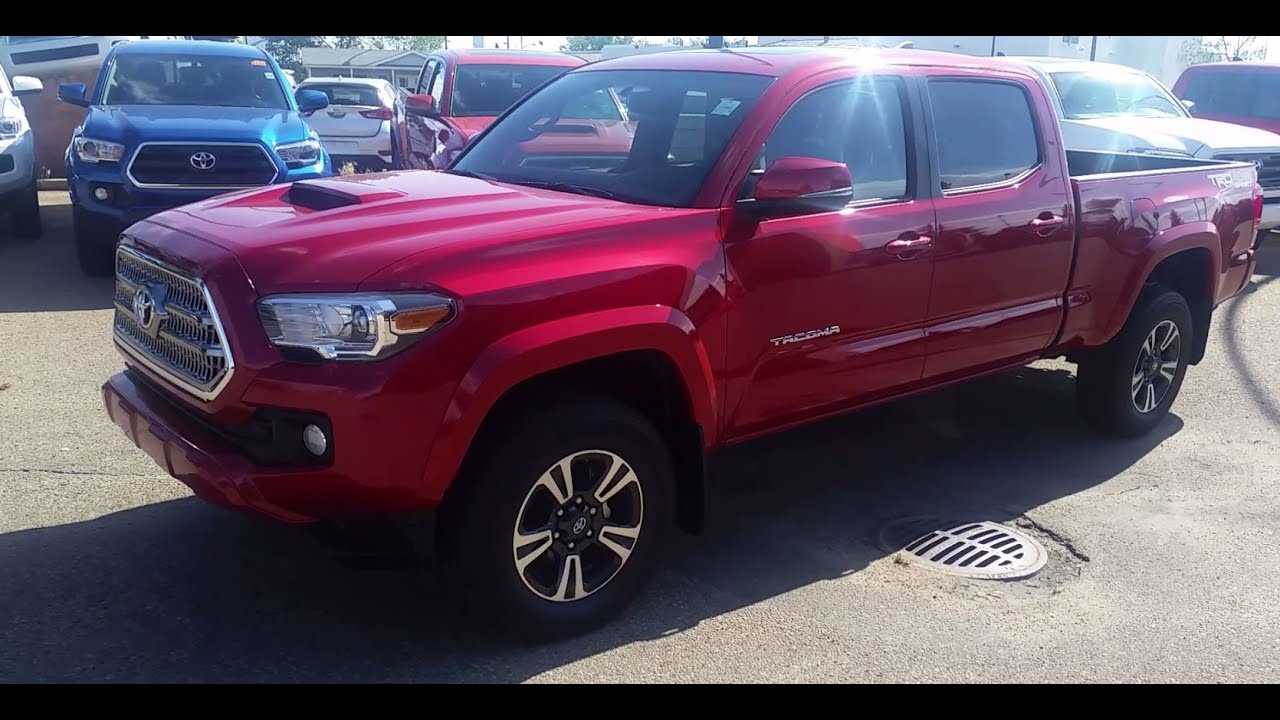 2017 toyota tacoma double cab trd upgrade or premium package detailed feature explanation youtube. Black Bedroom Furniture Sets. Home Design Ideas