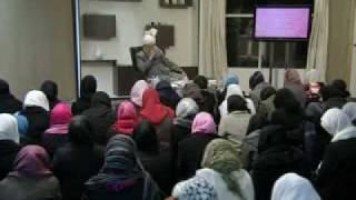 Gulshan-e-Waqfe Nau (Nasirat) Class: 2nd January 2010 - Part 6 (Urdu)