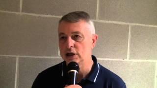 30-06-2014: tdrvolley2014, Luciano Pedullà dopo l'esordio della Lombardia femminile al tdr2014