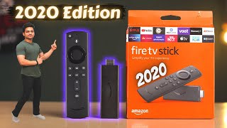 Amazon Fire TV Stick 3rd Gen with Dolby Atmos Unboxing & Review | 2020 Edition 🔥